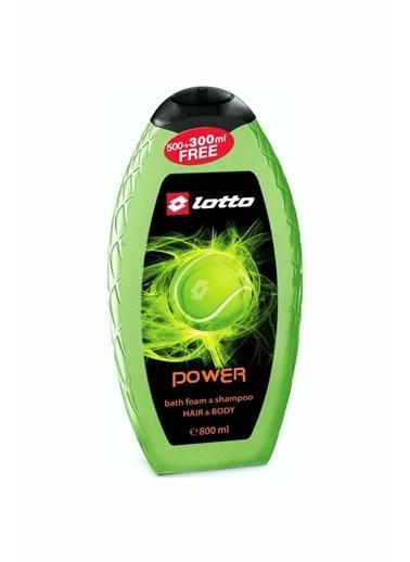 Lotto Lotto Power Erkek Shower Gel , Shampoo 800 Ml Renksiz